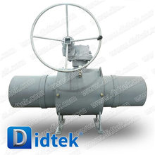 Didtek Cast Steel Full Welded Ball valve for Natural Gas