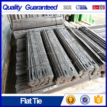 "10"" plain concrete flat ties"