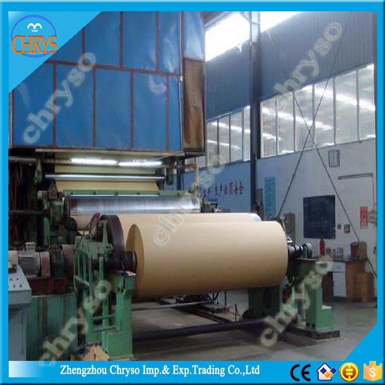 Large Capacity Kraft/Cardboard/Corrugated Paper Making Machine