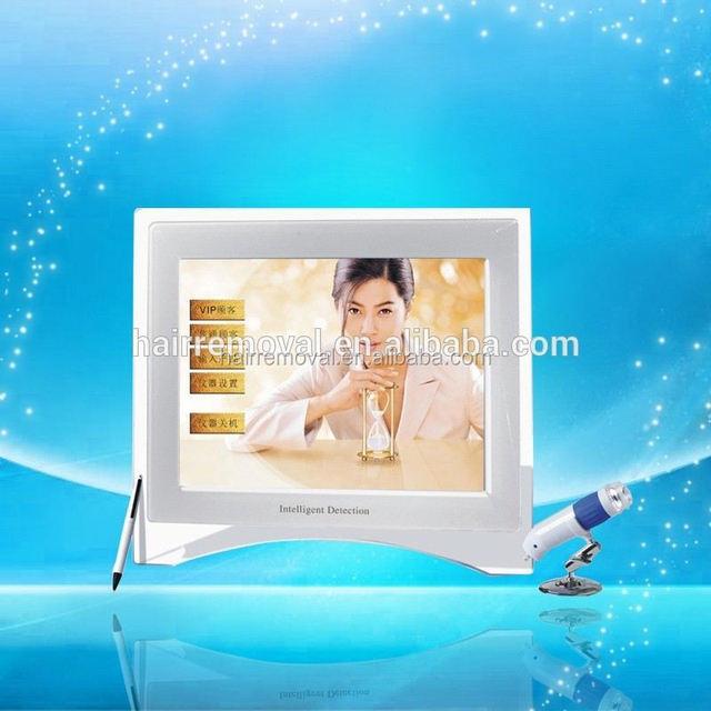 Professional Sebum, Pigment, Collagen fibers, Elasticity,Pore,Ace,Sensitivity,Moisture face skin analyser