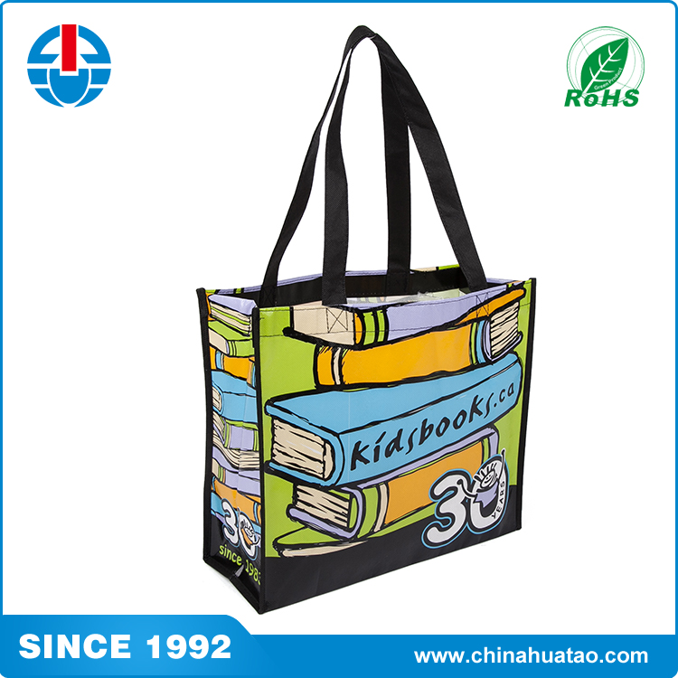 Hot sale Promotional cheap price PP non woven lamination shopping bag custom logo printing tote bag