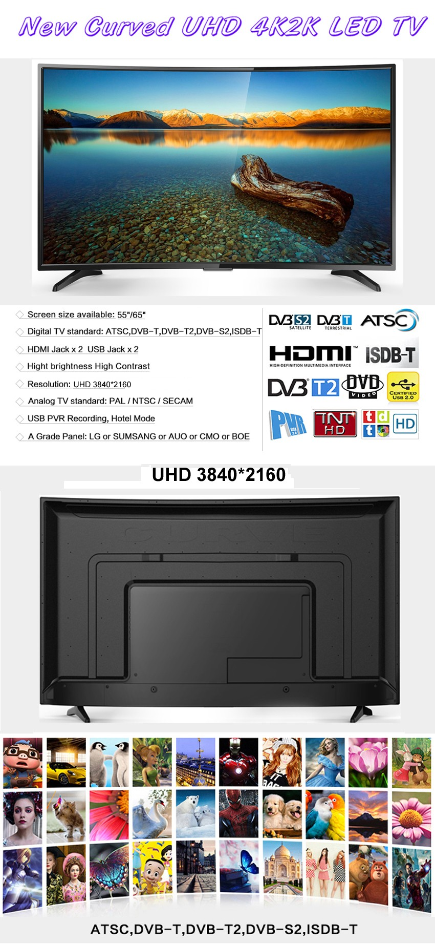 "Factory price 55 inch curved smart tv, Buy bulk electronics 55"" led tv television smart 4k, hot new products wifi 55 4k smart tv"