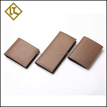 Quality assurance card cow human leather wallet for sale
