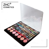 CC30406 Make up set- Hot sale 105c eye shadow, 7c blush palette and 7c lip gloss