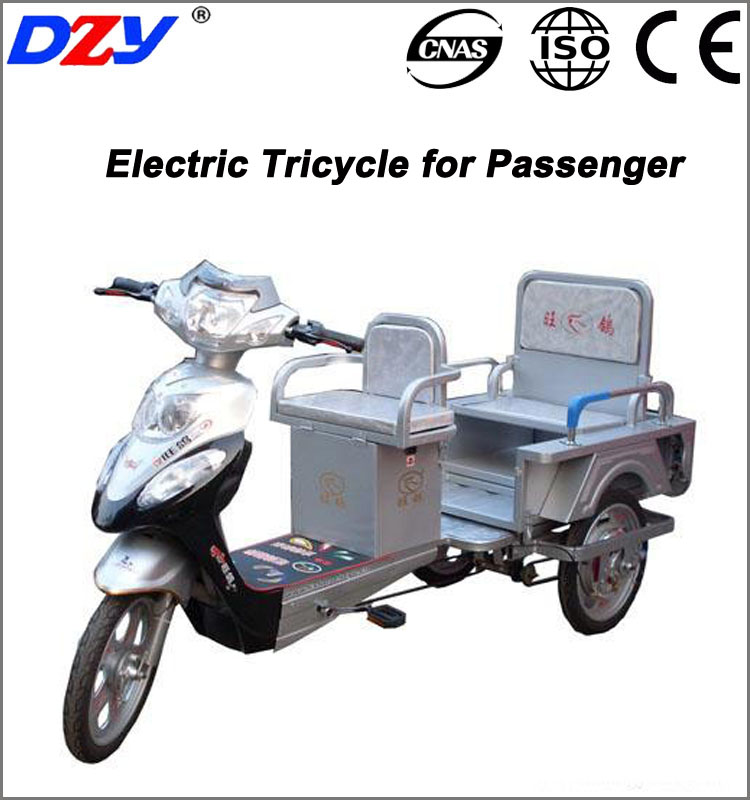 China open body cargo folding electric tricycle three wheel electric bicycle