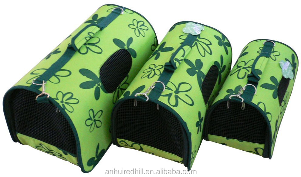 Small Dogs Elegant PVC Bag Pet Travel Carrier