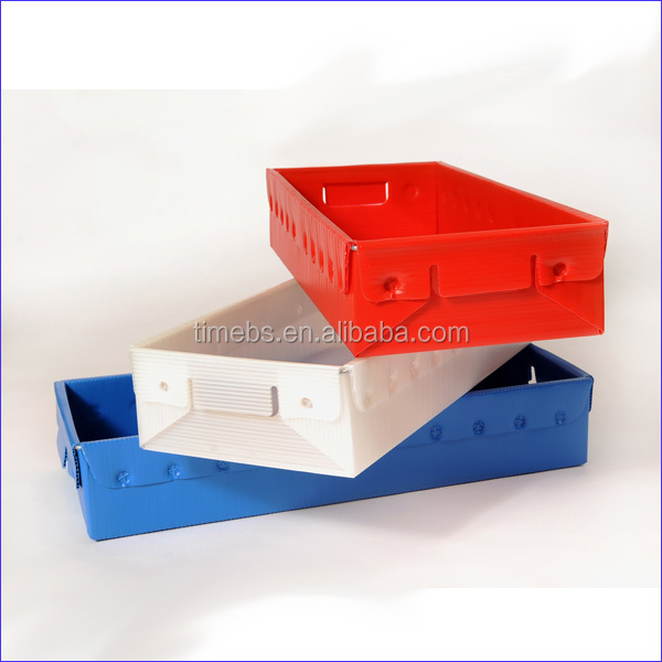 PP Hollow sheet Foldable Storage Box