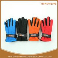 Wholesale winter warm aduct polar fleece gloves