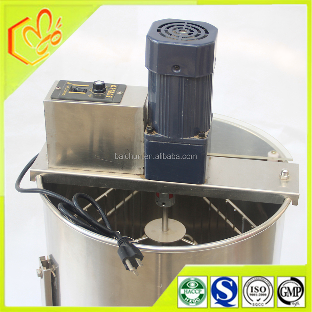 extracting/separating honey machine auto.3 frames electric motor honey extractor on Sale