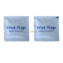 disposable cleaning finger wet wipe