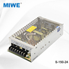 High efficiency constant voltage switching mode power supply smps 150W 24V 6.5A S-150-24
