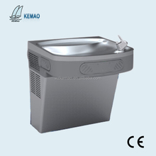 Wall mounted drinking water fountain for school