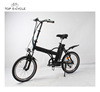 Manufacturer price portable folding electric bike/bicycle with seat tube battery