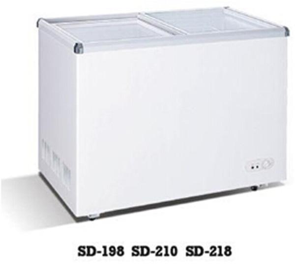 Small Size Ice Cream Refrigerator Display Cabinet Deep