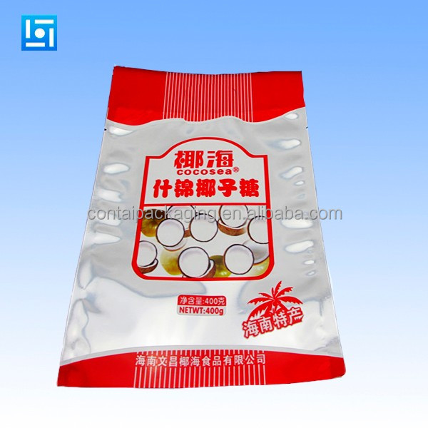 PE inner bag lamination pp plastic packaging chicken feed bag