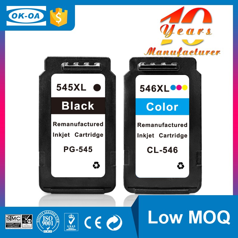 How to get a cheap factory price remanufactured ink cartridge for canon pg-545 pixma chip reset