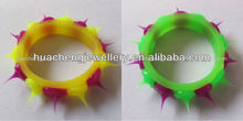 hot popular new style silicon finger ring body piercing jewelry