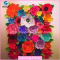 Wedding backdrop giant paper flower for whole sale