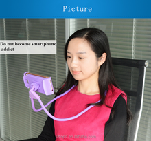 Mobile Phone Holder Stand Flexible Neck Holder for Bed Sofa Tablet Desk