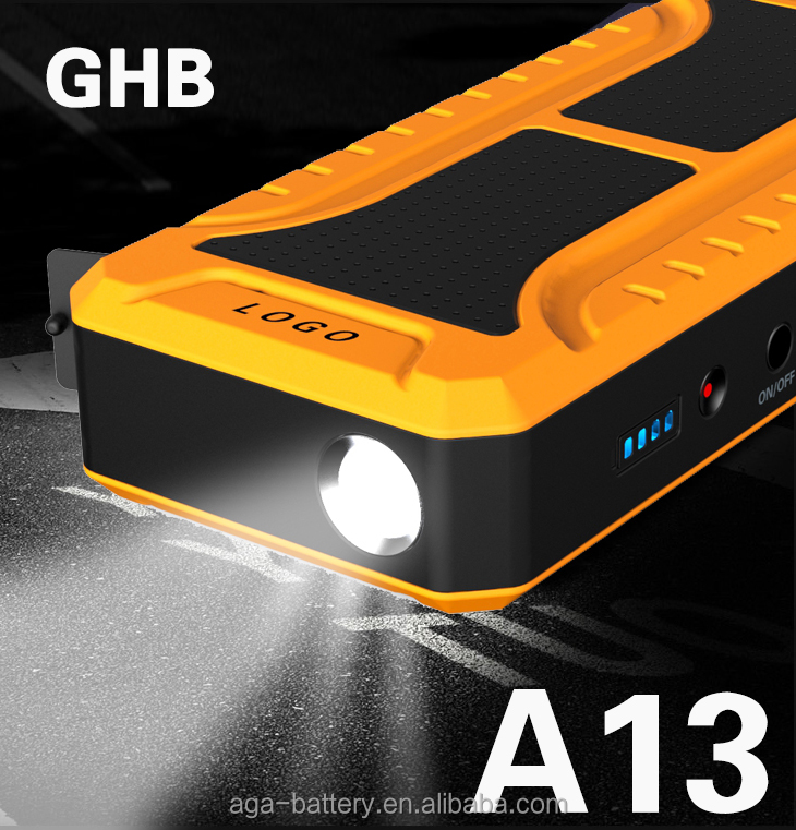 GHB A13 car emergency tool kit/roadside emergency kit set with Jump Starter car accessories of roadside emergency kit