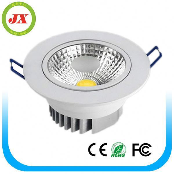 2016 New products Best quality IP44 dimmable led down light 3-30W cob Led downlights