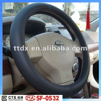 hot sale PVC design your own wheels car steering wheel covers for BMW