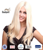 Wholesale Monofilament Top Blonde Human Brazilian Hair Full Lace Wig In Dubai