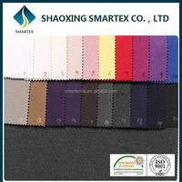 SM-40008 China fabric wholesale ITS certified Cheap Brushed polyester rayon spandex fabric