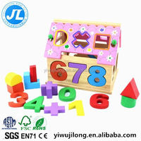Fashion diy wooden toy house diy model house diy doll house