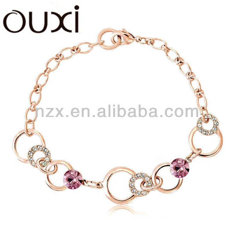Wholesale female crystal bracelet Jewelry 30117