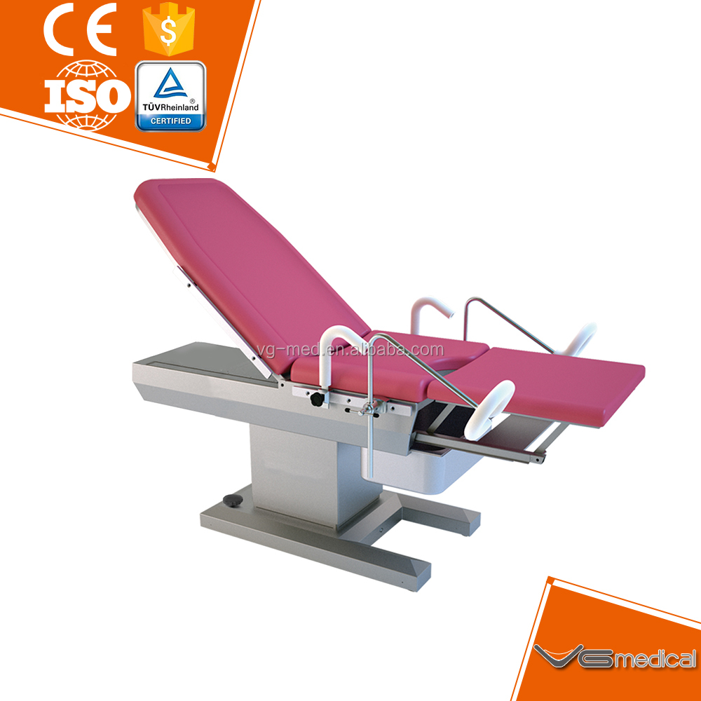 Medical equipment supplies Electric Gynaecology surgical operation table for hospital operation examination