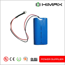 li ion battery 7.4v rechargeable battery pack
