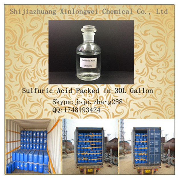 Factory Supply Sulfuric Acid Price 98 (H2SO4)