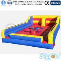 Challenging Inflatable Sport Arena Gladiator Jousting Game For Rentals