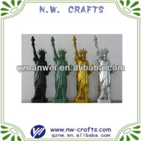 Colorful Resin New York Souvenir Statue