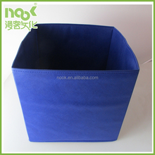 baby products Square non woven living room foldable toy storage box