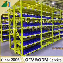 China factory supply light duty warehouse steel shelf longspan storage shelving