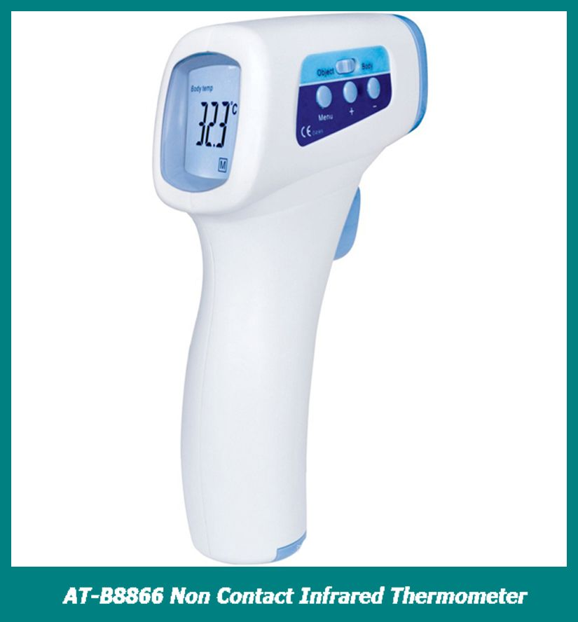 Body Object Temperature Reader Medical Device Forehead Thermometer