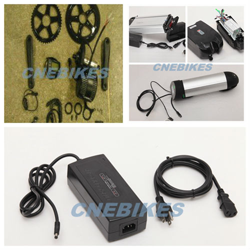 8fun/bafang/bafun motor 2013 New model BBS-01 Middle driven Motor kits with battery