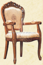 Folding Cheap Carved Oak Wood Dinning Chair (HG993)