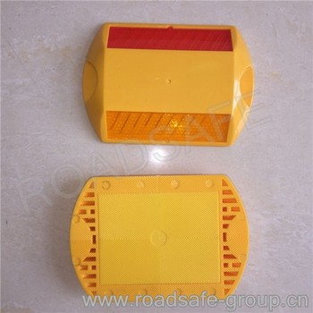 Plastic Road Cat Eye Road Reflectors Pavement Marker