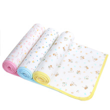 Factory Wholesale Washable Baby Changing Mat with 100% Cotton Material