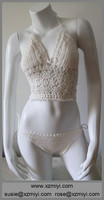 New sexy bikini crochet swimwear women swimsuits set bathing suit Brazilian vintage maillot de bain knitted bikini