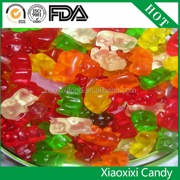 Alibaba hot sale vat19 gummy worm/vitamin halal gummy/food sweets