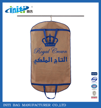 Eco-friendly baby's garment bags nonwoven garment bags with clear window