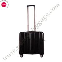 Black Hardshell ABS Cabin Trolley case for 17