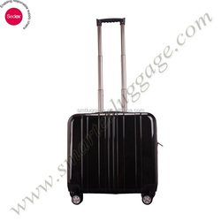 "Black Hardshell ABS Cabin Trolley case for 17"" laptop"