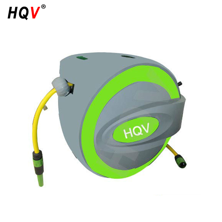 watering lawn trees garden retractable water hose reel