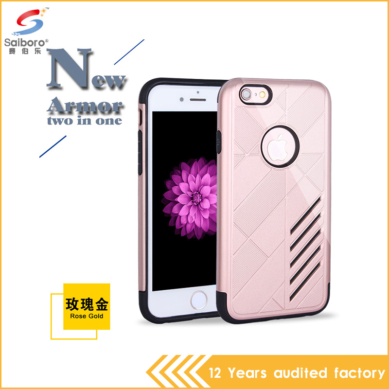 New produsts 2016 smart phone tpu pc material for iphone 6s case