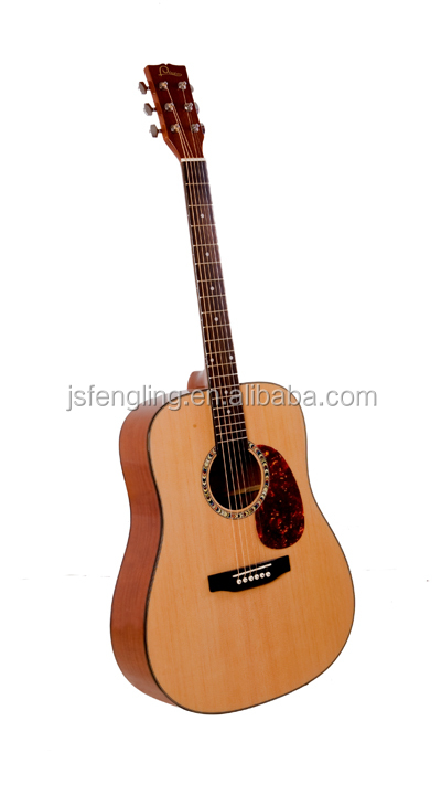 Cheapest Handmade Chinese Acoustic Guitar (LCFG068-41)